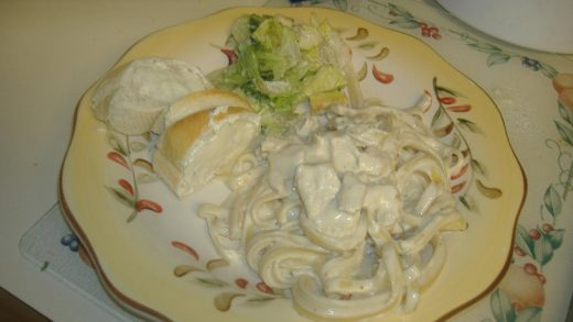 Something New is Cooking: Microwave Chicken Fettuccini Alfredo - Pampered  Chef