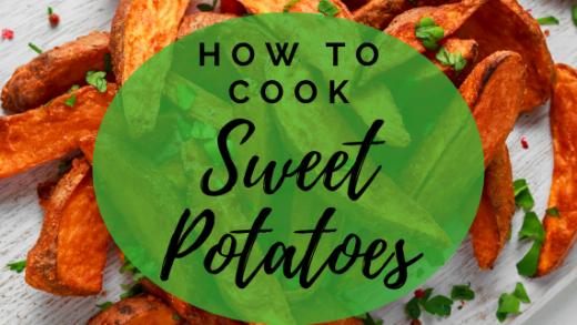 How to Cook Sweet Potatoes - Evo Eats bake boil fry microwave