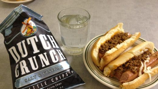 Old Milwaukee vs. Coney Island : Lunch – A College Perspective