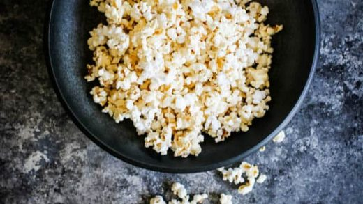 DIY Brown Bag Microwave Popcorn | This Mess is Ours