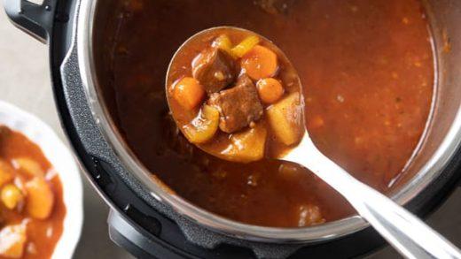 Instant Pot Beef Stew Recipe in Pressure Cooker | Best Recipe Box