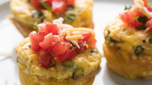 Keto Breakfast Egg Muffins   A Wicked Whisk