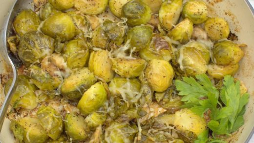 Lemon and Garlic Roasted Brussels Sprouts – Palatable Pastime Palatable  Pastime