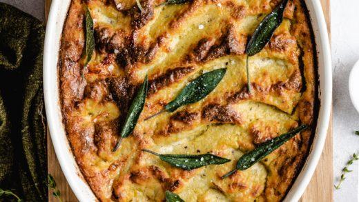 Chicken Pot Pie Casserole - I Am Homesteader