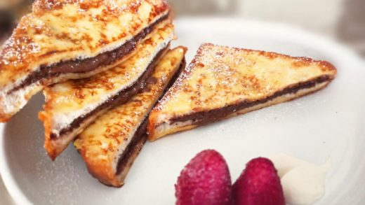 Stuffed French Toast - Craving Zone | Nutella French Toast