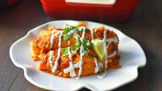 Crunchy Capsicum & Beef Enchiladas – Make You Cook