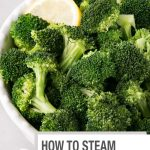 How to Steam Broccoli - without a steamer - My Kitchen Love