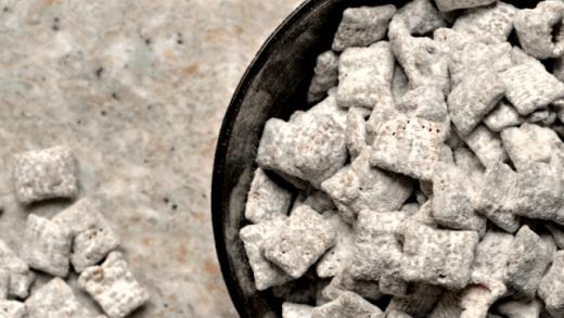 Puppy Chow Popcorn - Meg's Everyday Indulgence