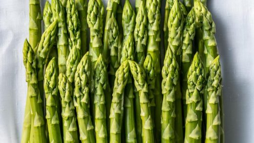 Perfect Microwave Asparagus Recipe - These Old Cookbooks