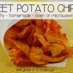Sweet Potato Chips - Feel Great in 8 Blog