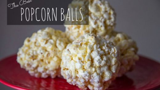 Easy Popcorn Balls Recipe (with Marshmallows) - Crazy for Crust