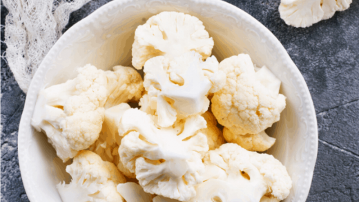 Steamed Cauliflower in the Microwave • Steamy Kitchen Recipes Giveaways