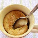 Microwave-Mug-Pancake-Above-Gluten-Free-Easily | Mug recipes, Pancake recipe  with water, Gluten free mug cake