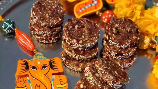 Ganesh Chaturthi Recipe   Dates Cranberries Burfi – No Sugar Sweet   Dry  Fruits Treat   Microwave Method – Mad About Cooking