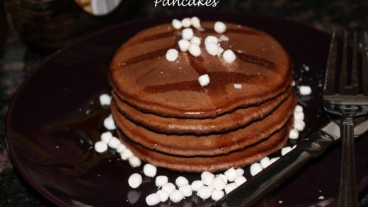 Hot Chocolate Pancakes - The Bitter Side of Sweet