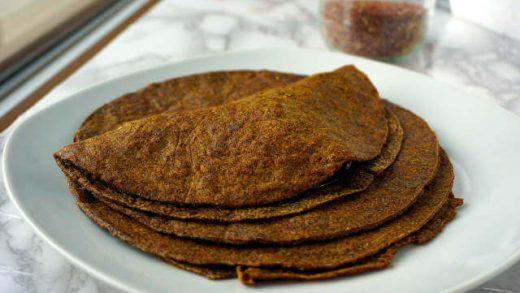 Keto Flaxseed Wraps Recipe | Eating Cheating