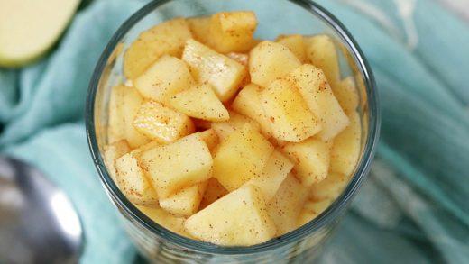 Microwave Cinnamon Apples - A Tasty Snack Kids Love!
