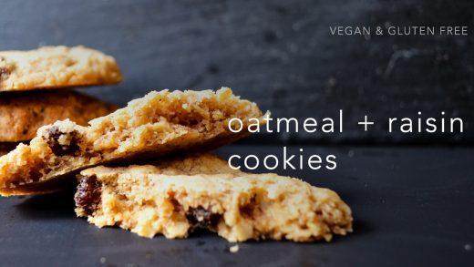 Easy Raisin Oatmeal Cookies 葡萄燕麥餅乾