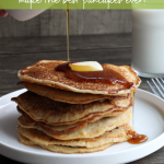 Homemade Pancakes From Homemade Pancake Mix - Hug For Your Belly