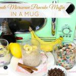 VIDEO} 2-Minute Microwave Pancake Muffin in a Mug - The Lindsay Ann