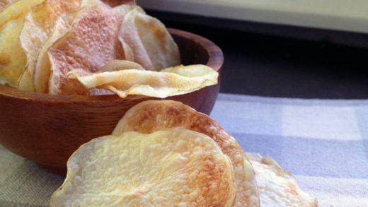Unfried Potato Chips (Crisps)   Kitcheninspirations