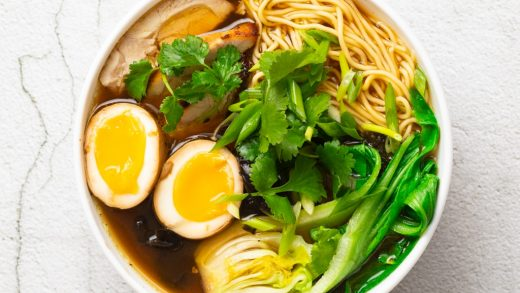 Spicy chicken ramen. Aromatic and spice – Bible of taste