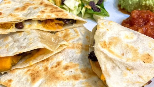 Sweet Potato and Black Bean Quesadilla – Concoctions with Options