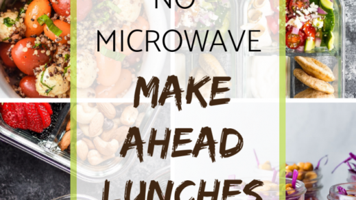 The Best No Microwave Make Ahead Lunches - Meal Plan Addict
