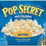Pop Secret Premium, Butter, 100 Calorie, Snack Size Microwave Popcorn - 12  ea, Nutrition Information | Innit