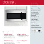 Frigidaire FFMV162W Microwave Oven User manual   Manualzz