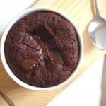Microwave Chocolate Lava Mug Cake – Stef Kitchen Diaries
