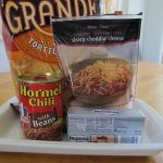 Hormel Chili with Beans Dip - Smarty Pants Mama