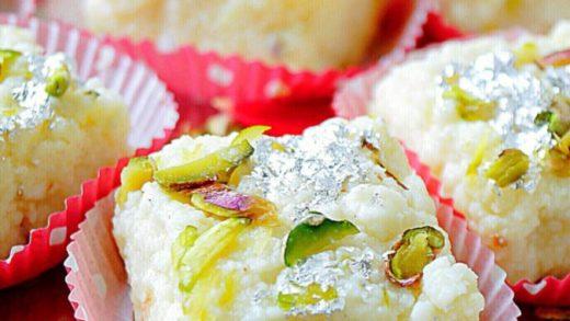 Kalakand Recipe   Instant Kalakand Recipe using Ricotta Cheese - Subbus  Kitchen