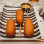 Cooking Frozen Corn Dogs in Air Fryer, quicker than in an oven!