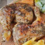 Easy Plum Glazed Chicken Leg Quarters, Simply Delicious