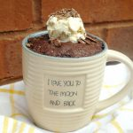 Easy Gluten Free Brownie in a Mug - Savory Saver
