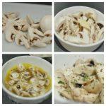 Microwave Recipe - 2 mins Butter Mushrooms