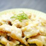 Fried Fish Fillet with Sweetcorn Sauce