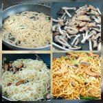 Chinese Braised Mushroom Noodles