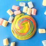 How To Make Rainbow Edible Slime Using Marshmallows