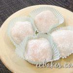 Sugar-Free Mango Mochi 無糖芒果糯米糍– EC Bakes 小意思