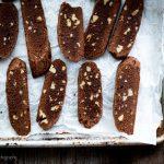 Chocolate-Pecan Biscotti Thins - Joyous Serendipity