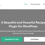 7+ Recipe WordPress Plugins 2021 (Free and Paid) | FormGet