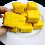 Custard powder cake recipe / Eggless custard powder cake recipe/ Eggless  custard cake recipe - At My Kitchen