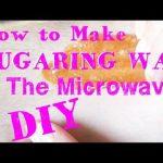 How to Make Sugaring Wax In the Microwave ♥ No Stove Recipe! - YouTube | Sugar  waxing, Sugaring hair removal diy, Sugar wax diy