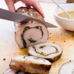 Stuffed Pork Tenderloin   chaos in the kitchen