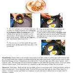 25 pages of basic egg recipes with photos