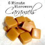 6 Minute Microwave Caramels   Homemade caramel, Microwave caramels, Caramel  recipes
