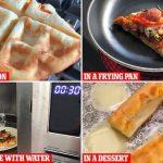 Domino's experts reveal best hacks for reheating leftover pizza   Daily  Mail Online