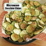 Zucchini Chips in the Microwave or Oven [Video]   Recipe [Video]   Zucchini  chips, Zucchini chips baked, Zucchini crisps